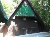 Rekreačná chata v Púchove smerom na Nimnicu