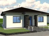 Rodinný dom /hrubá stavba/ v Horovciach